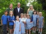 St Andrew's CE Primary School Pupils Gardening Club, Yetminster
