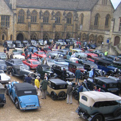 Rotary Historic Vehicle Rally 2013, Sherborne
